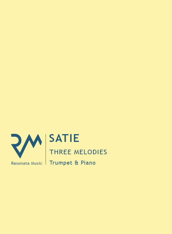 Satie - Three Melodies cover