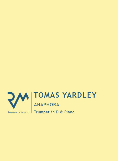 Yardley - Anaphora cover