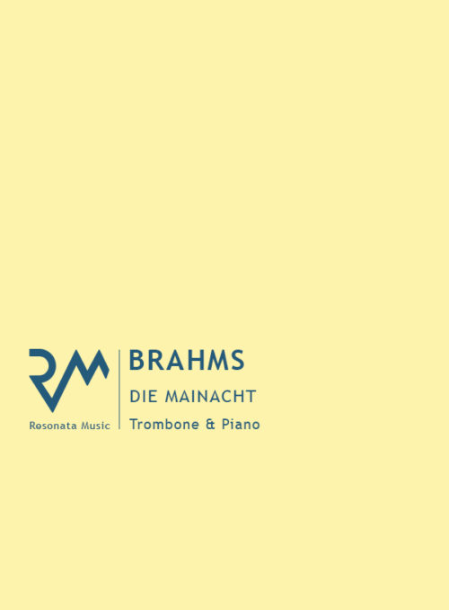 Brahms - Die Mainacht cover