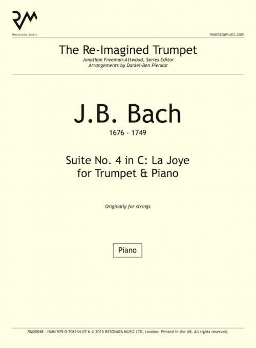 JB Bach - inner cover