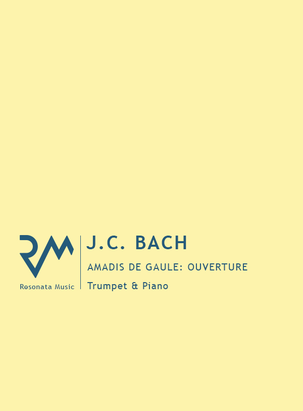 JC Bach - Amadis cover