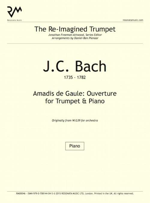 JC Bach - Amadis inner cover