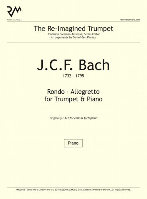 JCF Bach - inner cover