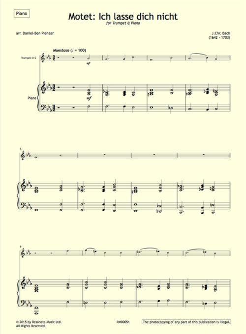 JChr Bach - first page