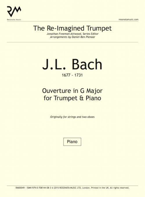 JL Bach - inner cover