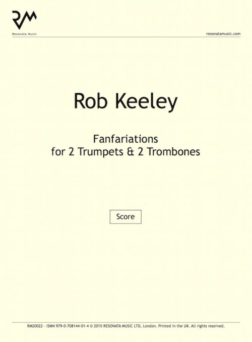 Keeley - Fanfariations tpts troms inner cover