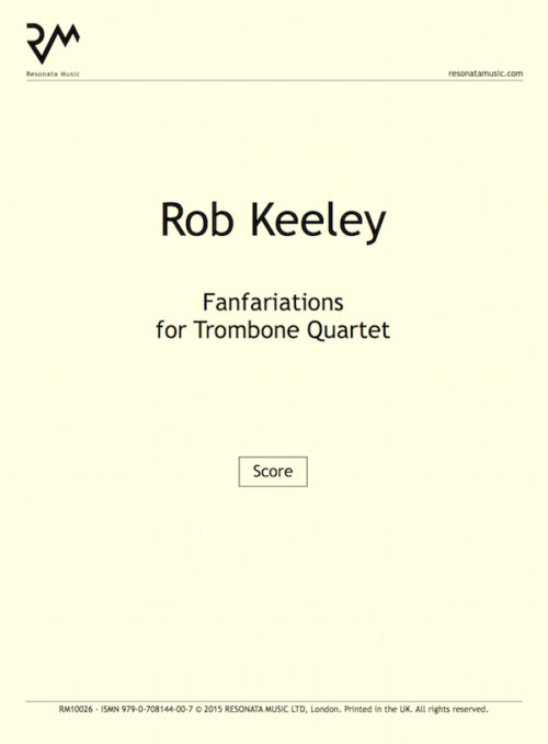 Keeley - Fanfariations troms inner cover