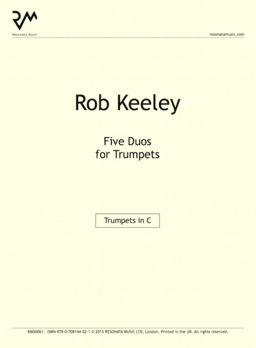 Keeley - Five Duos inner cover