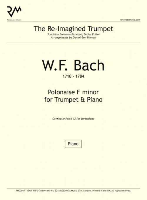 WF Bach - Polonaise inner cover
