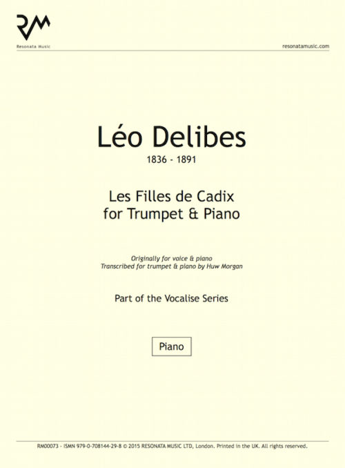 Delibes - Filles inner cover