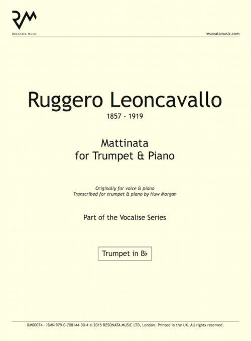 Leoncavallo inner cover