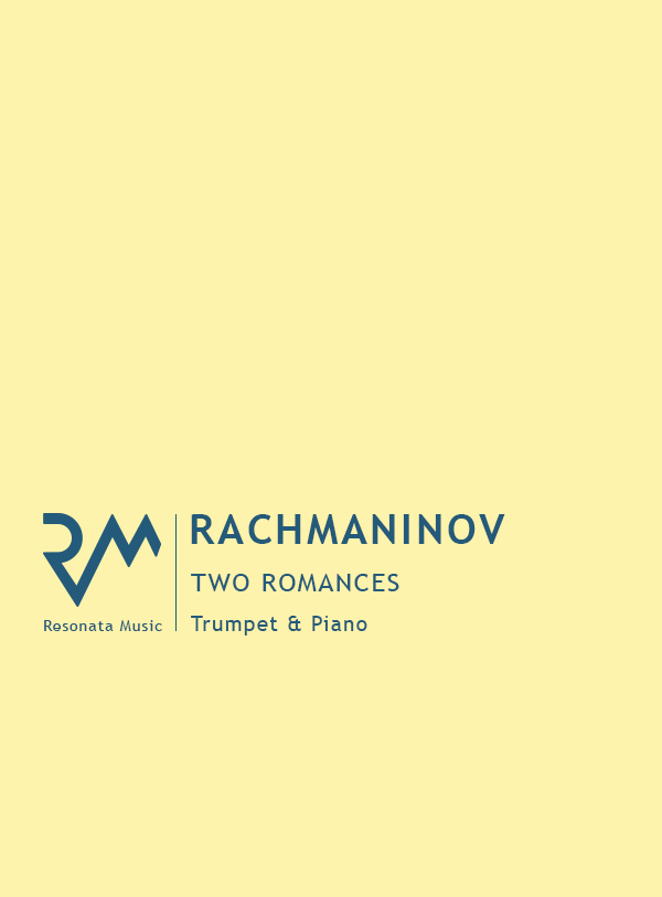 Rachmaninov - Two Romances cover
