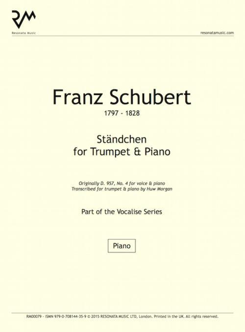 Schubert - Standchen inner cover