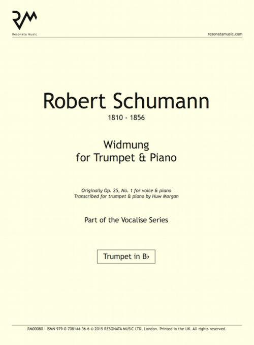 Schumann - Widmung inner