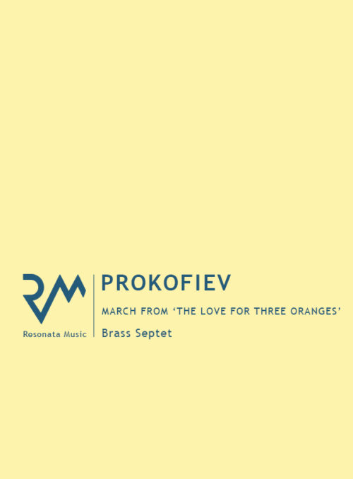 Prokofiev - March cover
