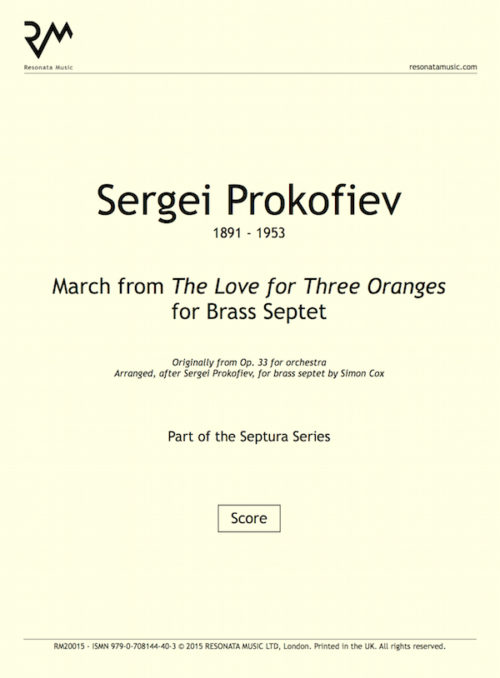 Prokofiev - March inner cover