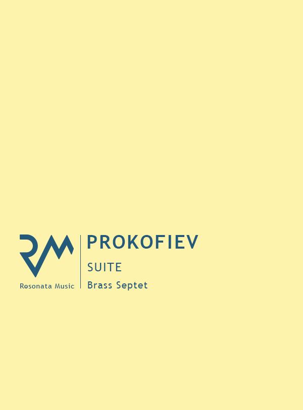 Prokofiev - Suite cover