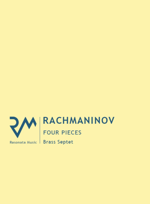 Rachmaninov - Four Pieces cover