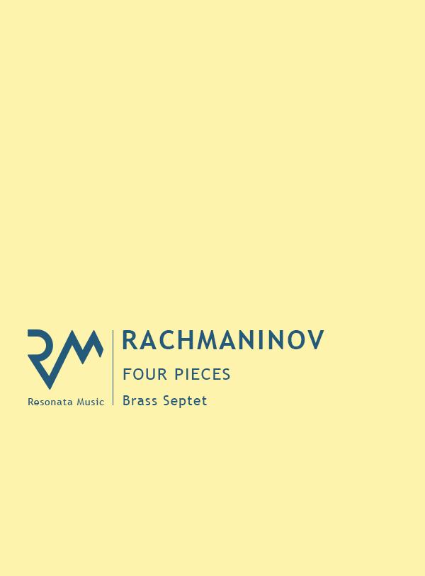 Rachmaninov - Four Pieces cover