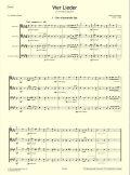 Schumann - Vier Lieder first page