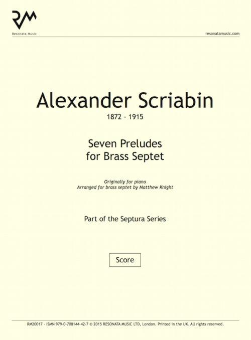 Scriabin - Preludes inner cover