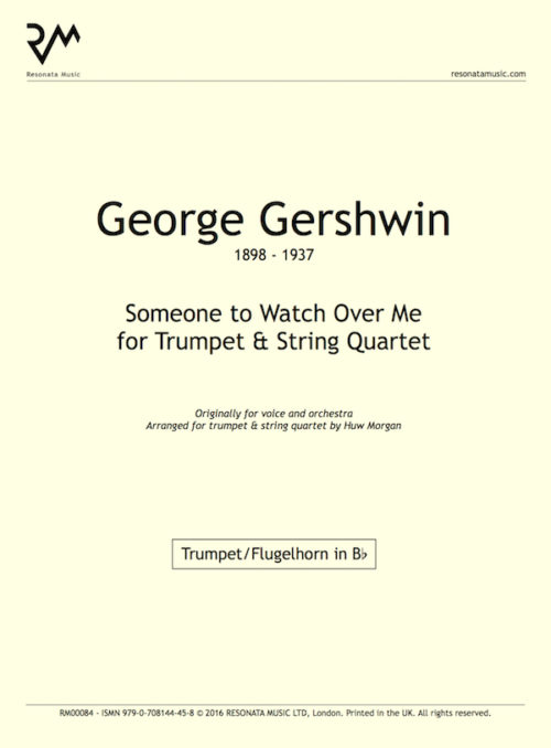 Gershwin - Someone to watch inner cover