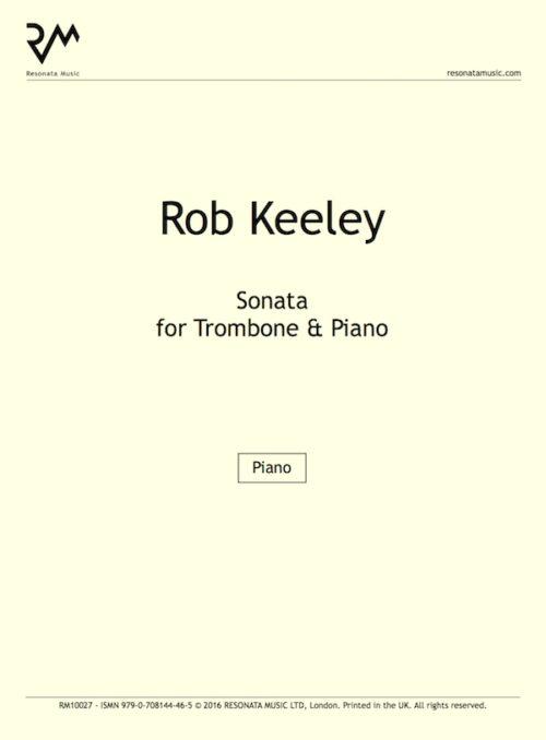 Keeley - Trombone Sonata inner cover