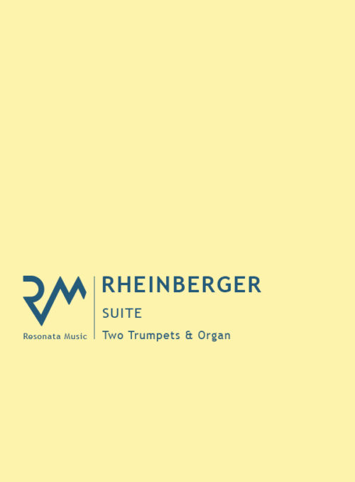 Rheinberger - Suite Trumpets cover
