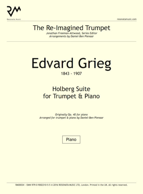 Grieg - Holberg inner cover