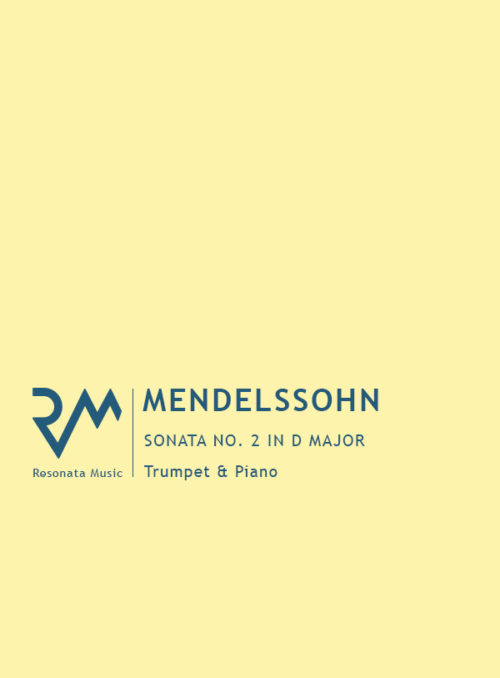 Mendelssohn - Sonata 2 Cover