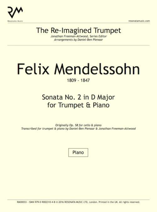 Mendelssohn - Sonata 2 inner cover