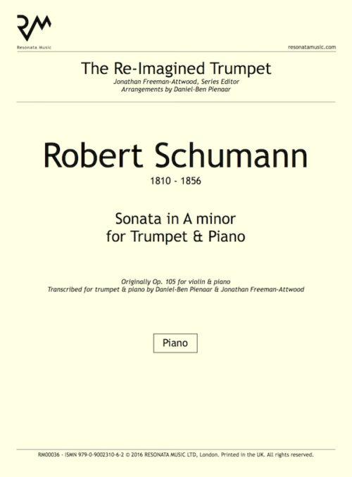 Schumann - Sonata inner cover