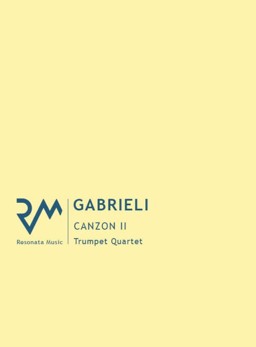 Gabrieli - Canzon II cover