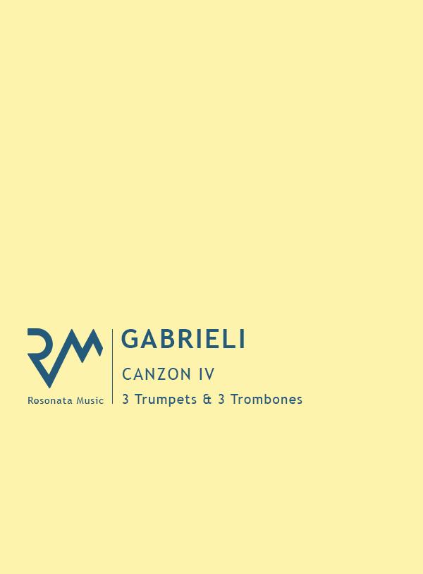 Gabrieli - Canzon IV cover