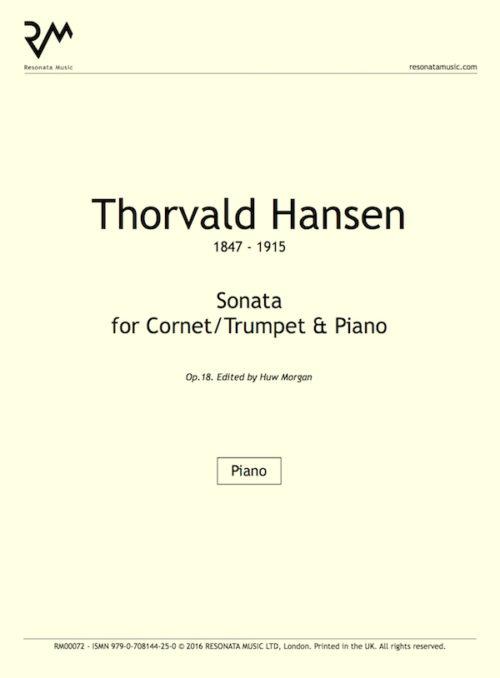 Hansen - Sonata inner cover