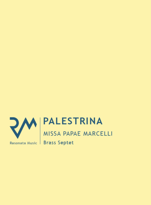 Palestrina - Missa cover