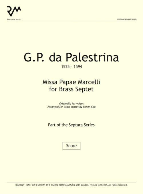 Palestrina - Missa inner cover