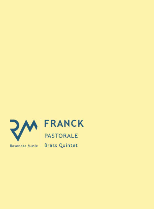 Franck - Pastorale cover