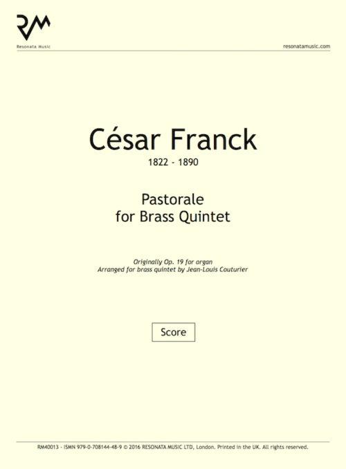 Franck - Pastorale inner cover