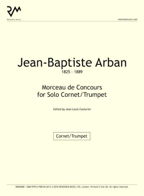 Arban - Morceau inner cover