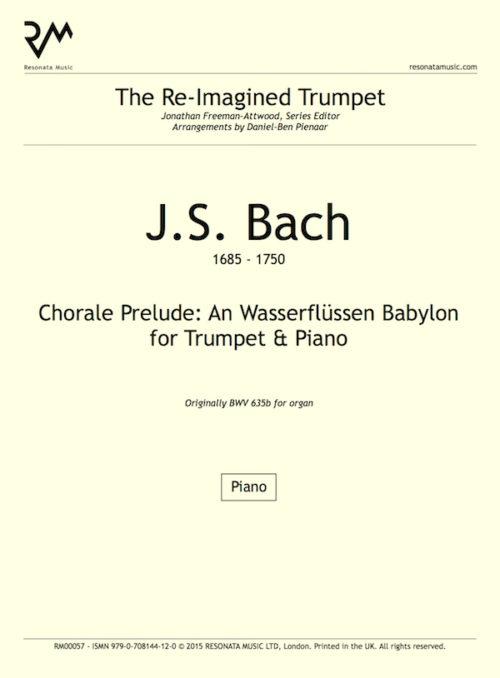 Bach - An Wasserflussen inner cover