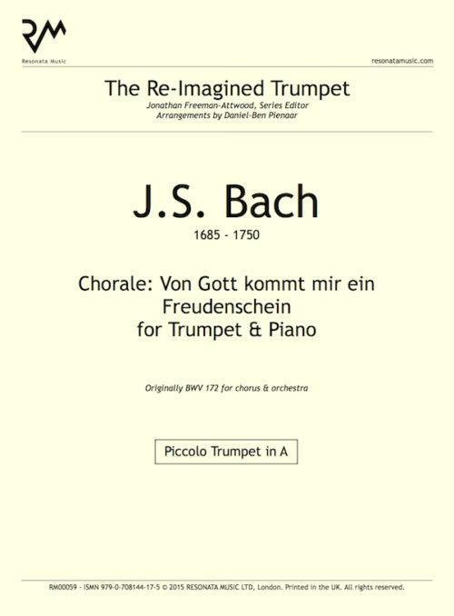 Bach - O Gott inner cover