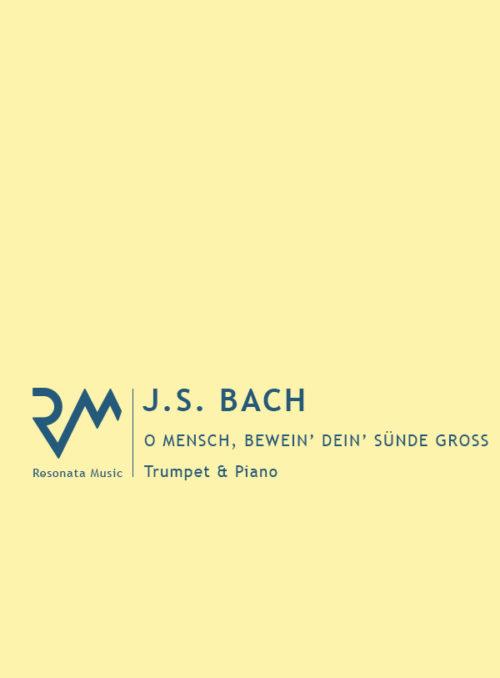 Bach - O Mensch cover