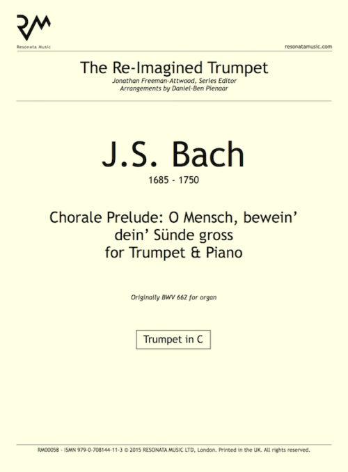 Bach - O Mensch inner cover