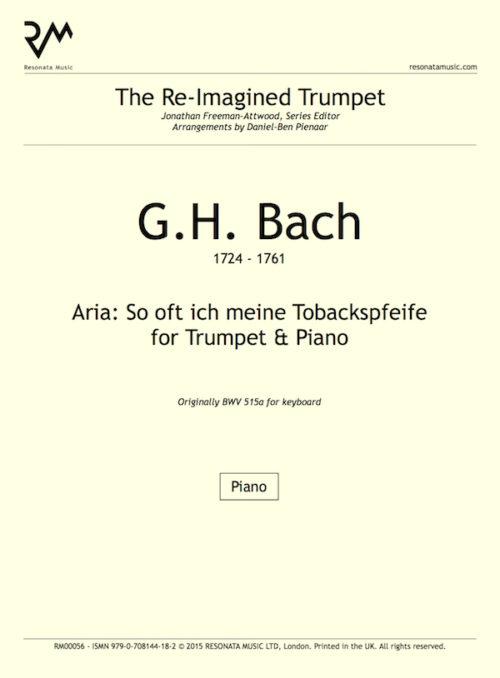 GH Bach inner cover