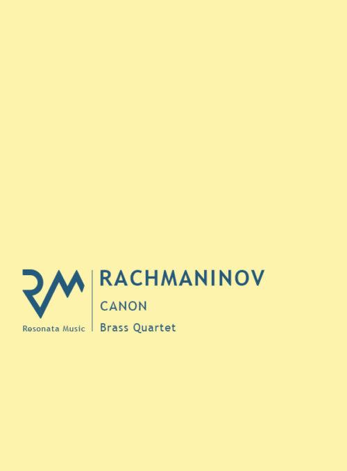 Rachmaninov - Canon cover
