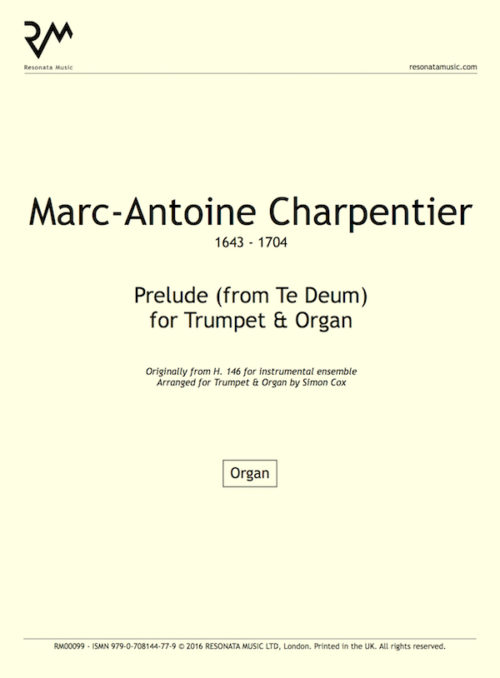 Charpentier - Prelude inner cover