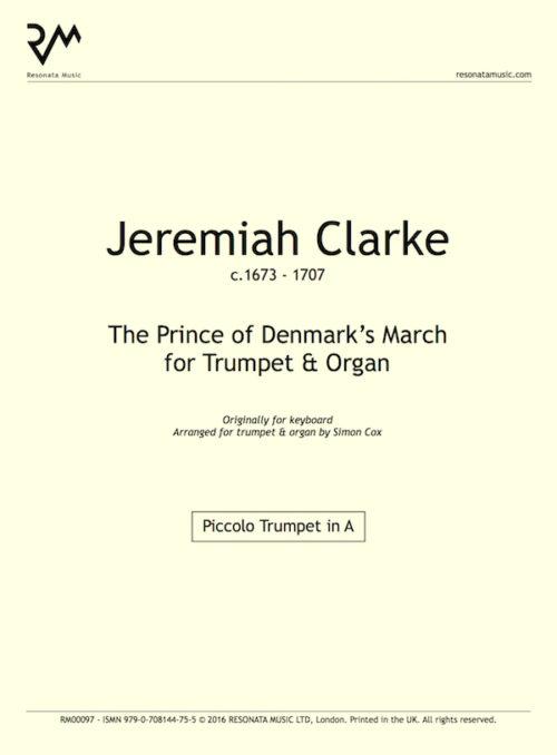 Clarke - Prince of Denmark inner cover