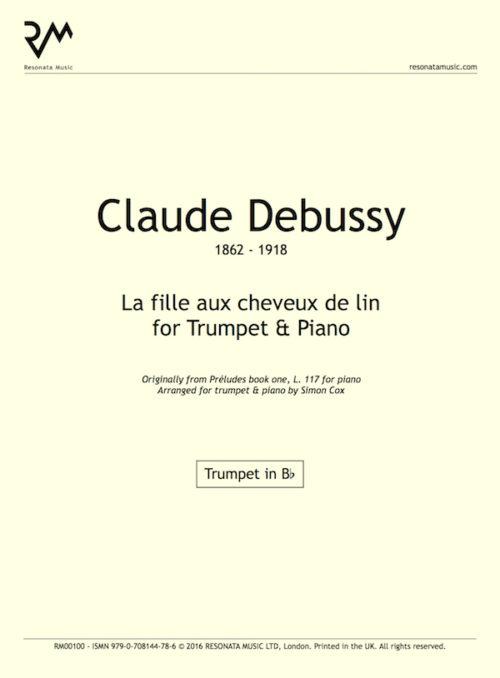 Debussy - La fille inner cover