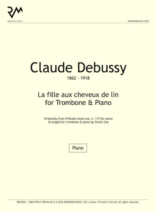 Debussy - La fille trom inner cover